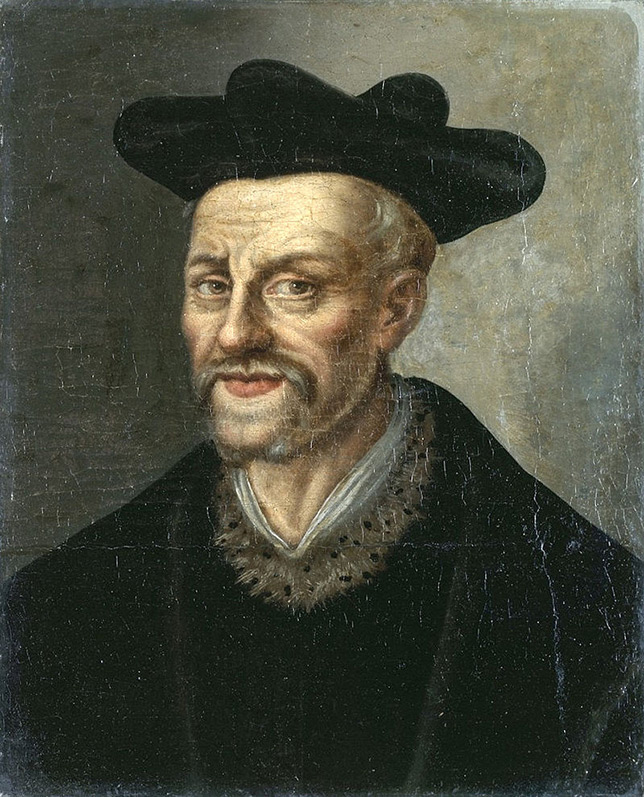 François Rabelais (anonymous portrait from the 17th century)
