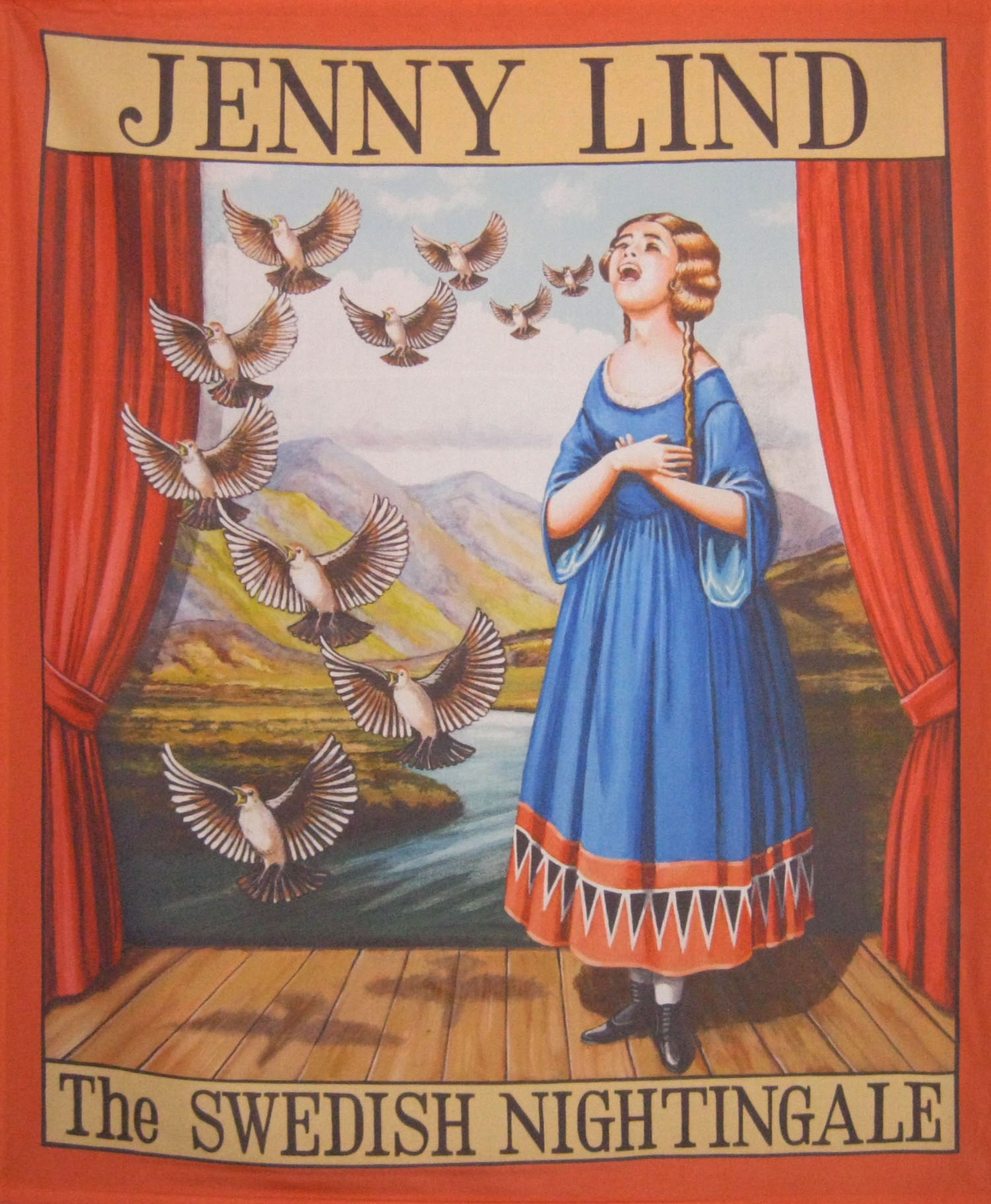 Jenny Lind the Swedish Nightingale. Poster from the collection of the University of Sheffield. Quelle: Wikipedia